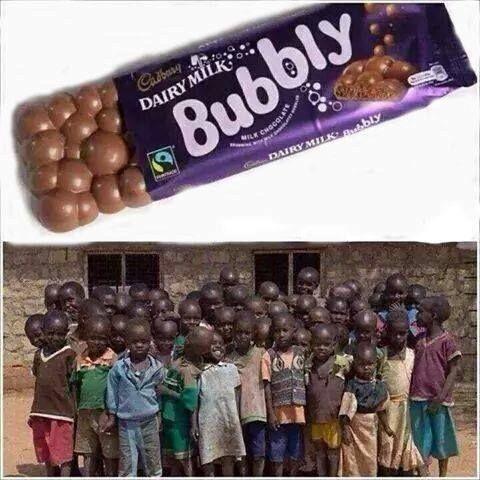 Dairy Milk Bubbly Cadbury New Print Ad